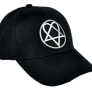 HIM Heartagram Hat Baseball Cap Gloom Rock Clothing