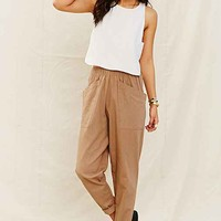 Mixed Business Linen Pant-
