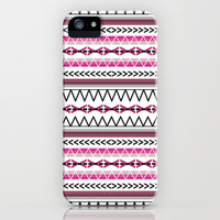 Tribal Pink iPhone & iPod Case by jessadee77