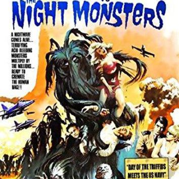 Mamie Van Doren & Anthony Eisley & Michael A. Hoey-Navy VS The Night Monsters