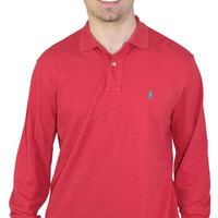 Polo Ralph Lauren Men's Custom Fit Long Sleeve Polo Shirt