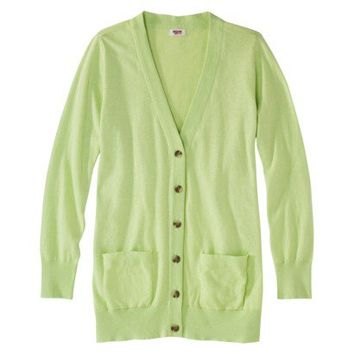 Mossimo Supply Co. Women's Plus-Size Long-Sleeve Boyfriend Cardigan - Assorted Colors
