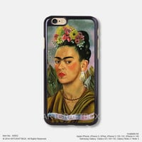 Oil painting Frida Kahlo Free Shipping iPhone 6 6Plus case iPhone 5s case iPhone 5C case 052