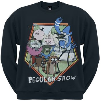 Regular Show - Great Outdoors Crewneck Sweatshirt