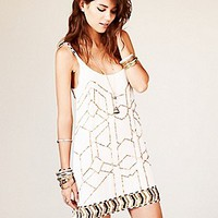 Free People  Gauze Sequin Shift Dress at Free People Clothing Boutique