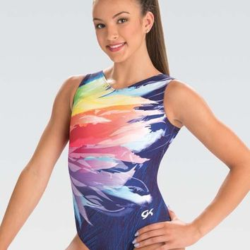 Feather Whimsy Show Tank Leotard E3593