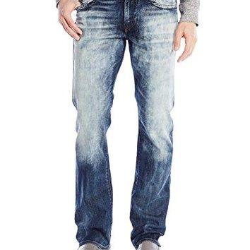 "True Religion Men's 1/2"" Se Ricky with Flap, Cape Town, 29"