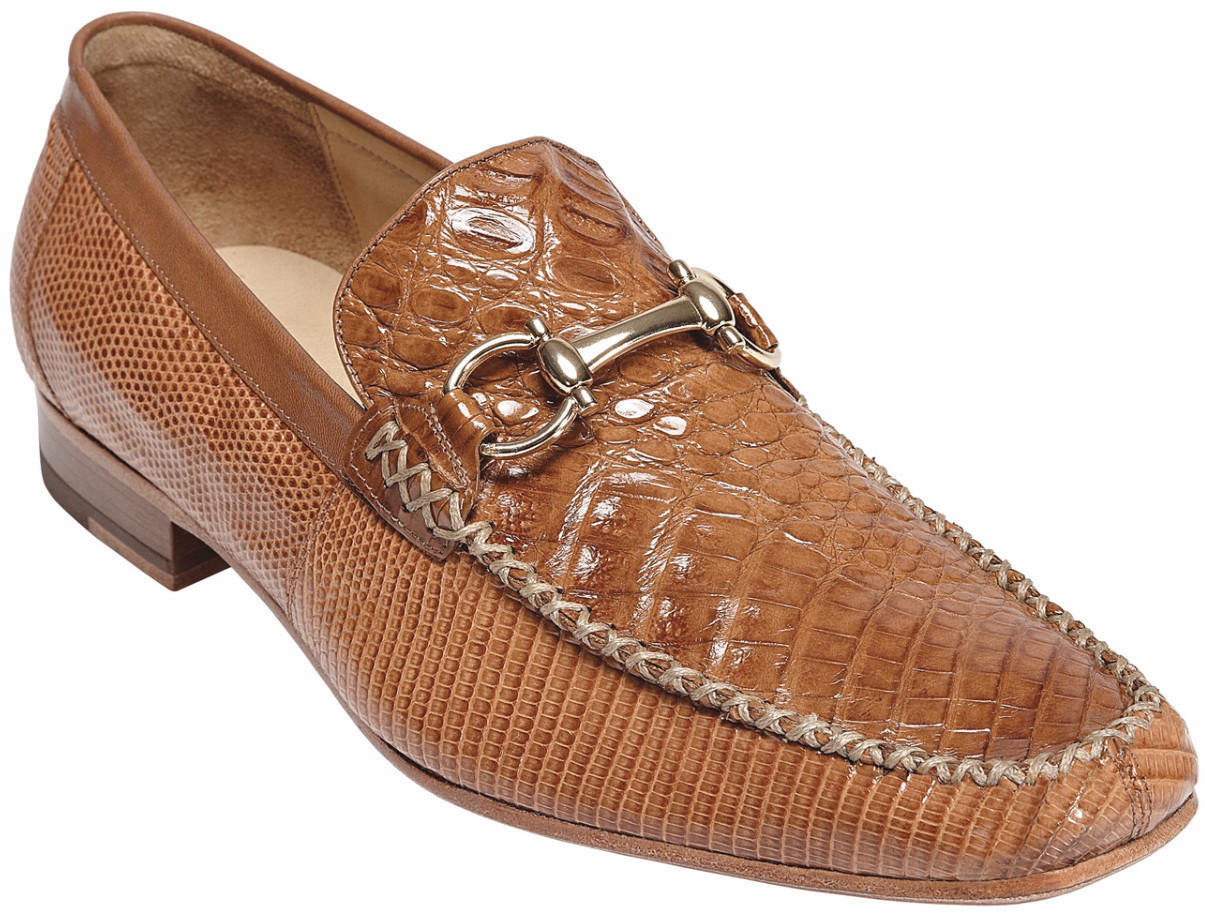 Italo Crocodile and Lizard Moccasin by from Levine Hat Co. 600fcb9cf