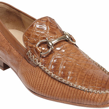 Italo Crocodile and Lizard Moccasin by Belvedere
