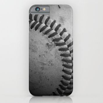 Baseball iPhone & iPod Case by Christy Leigh