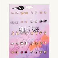 Wild & Free Earring 20-Pack | Earrings | rue21