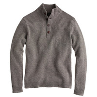 J.Crew Mens Lambswool Mockneck Sweater