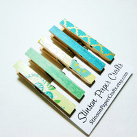 Magnet Clips | Dorm Magnets | Clothespin Refrigerator Magnet Clips | Fridge Magnets | Neodymium Magnets | Pretty Magnets