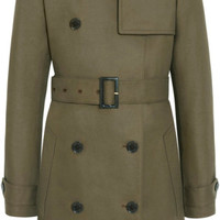 Mulberry Green Trench Coat