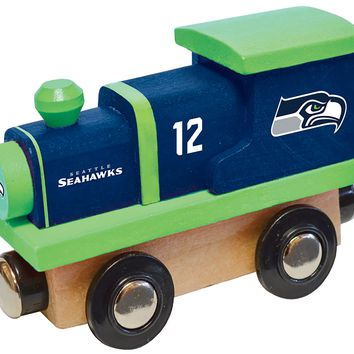 NFL Seattle Seahawks - Wood Train