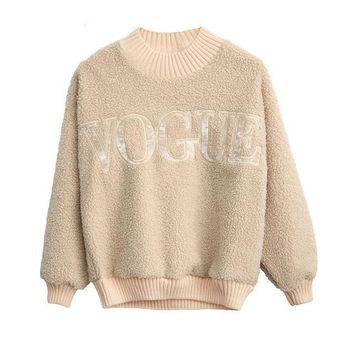 Vogue Sherpa Sweaters