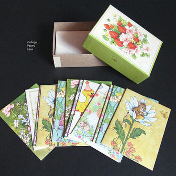 Box Lot Vintage Greeting Cards, Birthday Cards, Baby Shower, Anniversary, Best Wishes, Wedding