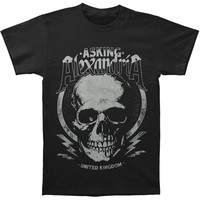 Asking Alexandria Men's  Skull Jack Slim Fit T-shirt Black