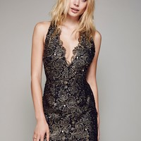 Free People Tessa Lace Mini Dress