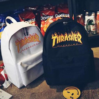 Thrasher College Stylish Hot Deal Casual Back To School Comfort Canvas Backpack