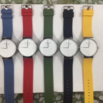 Great Deal Gift Good Price Awesome Trendy Designer's New Arrival Stylish Simple Design Casual Watch [373444935709]