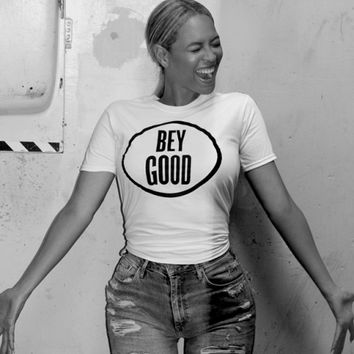 Beyonce BEY GOOD Women's Casual T-Shirt