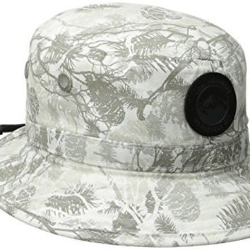 Coal Men's Sparkler Bucket Hat, Snow, Medium