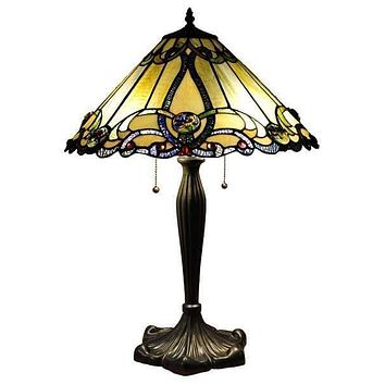 Simple and Cool Victorian Table Lamp by Chloe Lighting