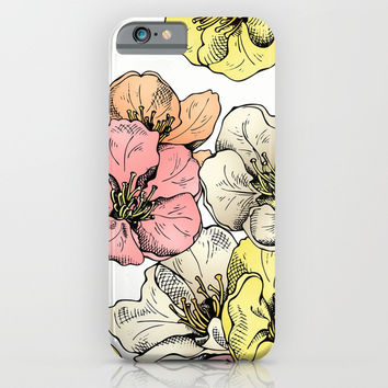 Colorful Poppies iPhone & iPod Case by MIKART