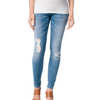Deconstructed Secret Fit Belly® Maternity Skinny Jeans