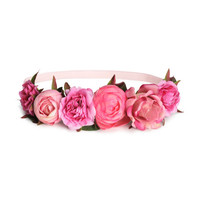Hairband with Flowers - from H&M