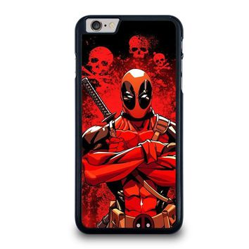 deadpool iphone 6 6s plus case cover  number 1