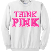 Think Pink - White