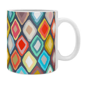 Sharon Turner Almas diamond ikat Coffee Mug