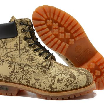 Timberland Classic (Decorative Pattern Brown/Beige)