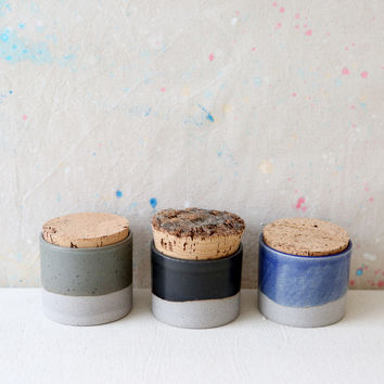 Small Humble Ceramics Canister