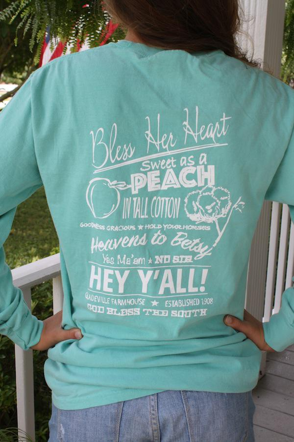 Gf Southern Sayings Tee Shirt From Gladeville Farmhouse
