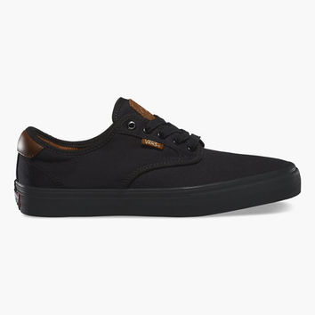 Vans Chima Ferguson Pro Mens Shoes Black/Black  In Sizes