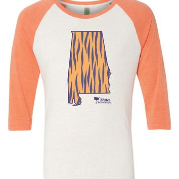 Alabama Tiger Baseball Tee
