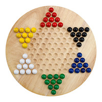 Wood Chinese Checkers Game Set | zulily