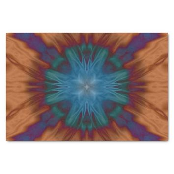 "Copper Blues 10"" X 15"" Tissue Paper"