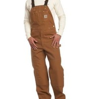 Carhartt Men's Duck Bib Unlined Overall