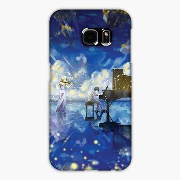 Kaori Your Lie In April Samsung Galaxy S7 Edge Case
