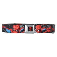 BUCKLE DOWN AMAZING SPIDERMAN SEATBELT BELT