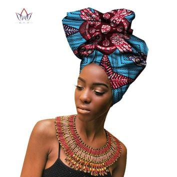Fashion African Headwraps For Women Head Scarf For Lady
