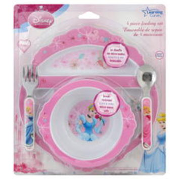 Disney Princess 4-Piece Feeding Set - Kmart