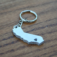 California Lovin' - Metal Keychain