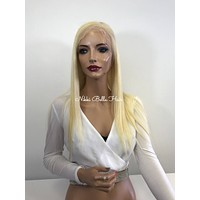 Blonde Full Lace Wig - 16 inches