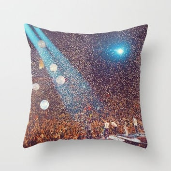 One Direction Madison Square Garden MSG Concert Throw Pillow by xjen94 | Society6