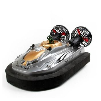 1:10 Scale RC Hovercraft Water Land Boat Speedboat Radio Remote Control